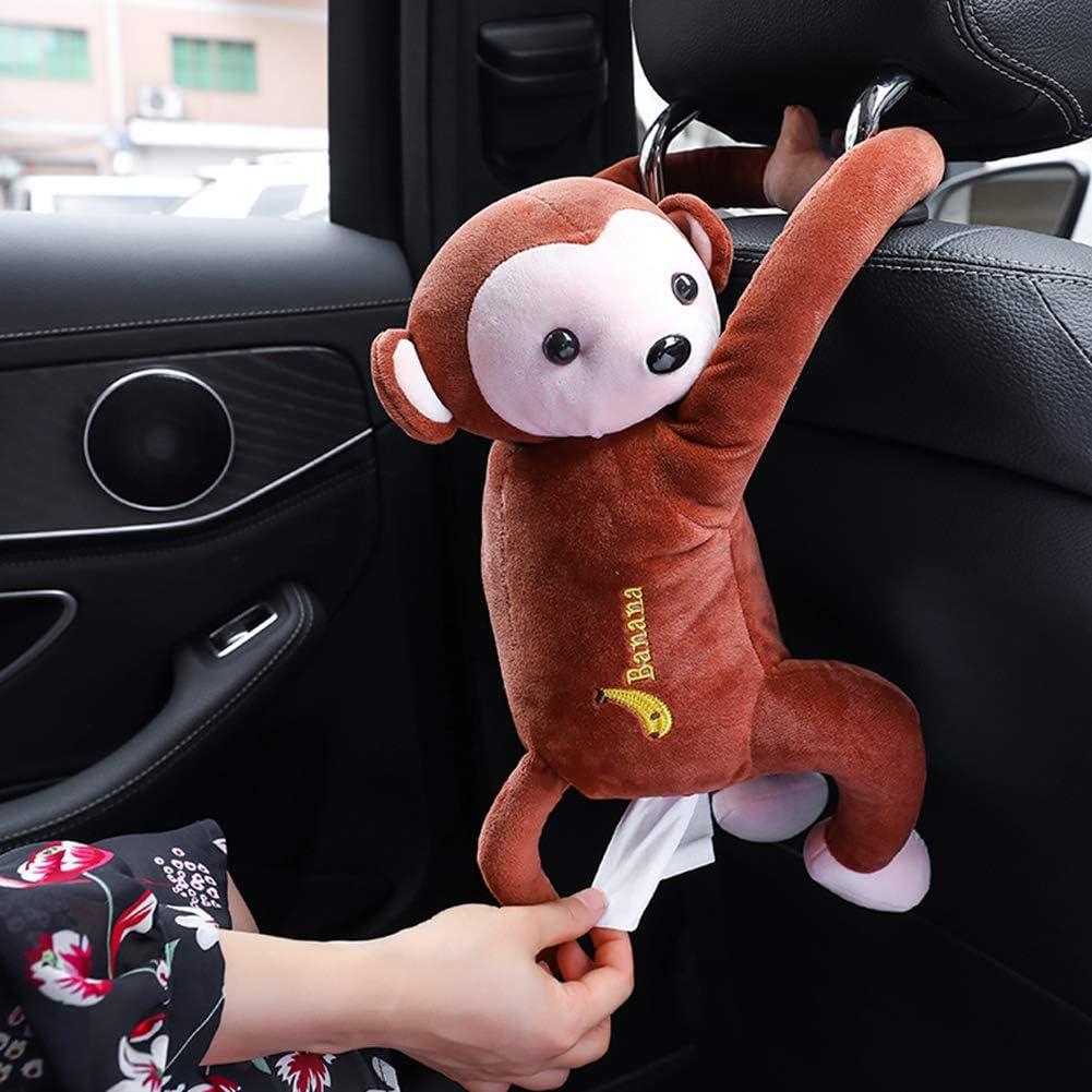 Porta fazzoletti a forma di scimmia per carta e tovaglioli 52 * 35cm//20.47 * 13.78inches A1 FIRLAR in stile cartone animato in stile giocattolo