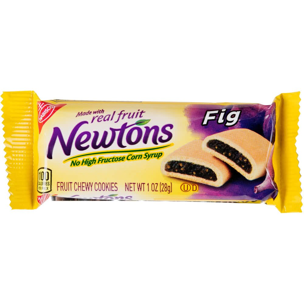 TableTop King Fig Newtons 1 oz. Snack Pack - 120/Case