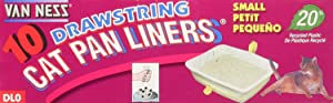 (3 Pack) Cat Pan Liners (Small Size - 10 Ct. Per Pack - 30 Total Liners)