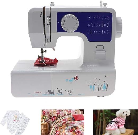 CGOLDENWALL - Máquina de coser portátil eléctrica, multifunción ...