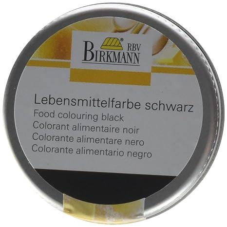 Birkmann 503083 Lebensmittelfarbe, konzentriertes Pulver, schwarz (1 ...