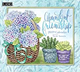 Lang Abundant Friendship 2019 Wall Calendar Office Wall Calendar (19991002005)