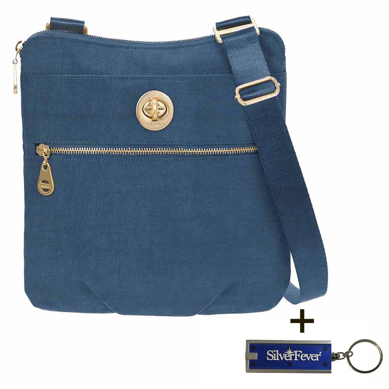 eb123a6ee Baggallini Hanover Crossbody Travel Handbag Key Foab and Wristlet