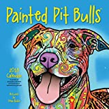 img - for Painted Pit Bulls 2018 Calendar book / textbook / text book