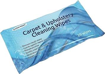 Despacho para alfombras y tapicería Manchas sofá ventana puerta superficie toallitas limpiadoras: Amazon.es: Deportes y aire libre