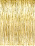 Amazon Price History for:Kangaroo Metallic Gold Foil Fringe Curtains 3 Foot x 8 Foot, 1 Piece