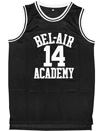66824deaf9d8 Will Smith 14 The Fresh Prince of Bel Air Academy Basketball Jersey S-XXL