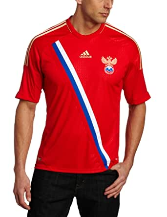 Russia Home Authentic Soccer Jersey, Small