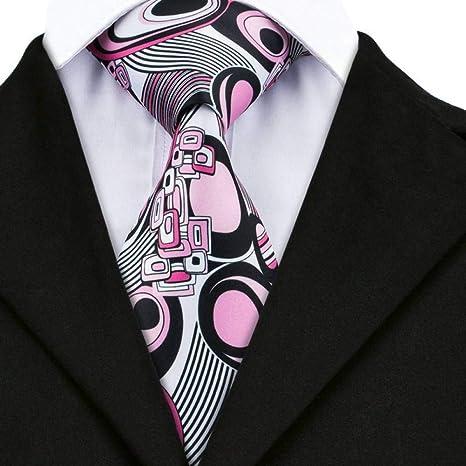 WOXHY Corbata de los Hombres Dn-1219 Nuevos Corbatas de Boda ...
