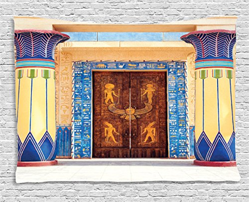 Egyptian  Wall Art Decor   Egyptian Temple - Egyptian wall decor