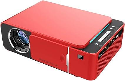 Opinión sobre ProyectorProyector Portátil De Alta Definición 1080P Proyector LCD Doméstico De Resolución 1920 * 1080Portátil Y Adecuado Para Uso Doméstico Y De Oficina (Size:250 X 170 X 80mm; Color:Red)