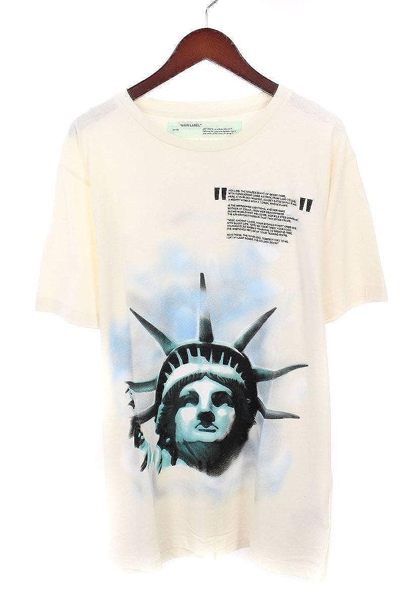 (オフホワイト) OFF-WHITE 【18AW】【WHITE LIBERTY S/S T-SHIRT】リバティープリントTシャツ(XL/ホワイト) B07FQ57BYG