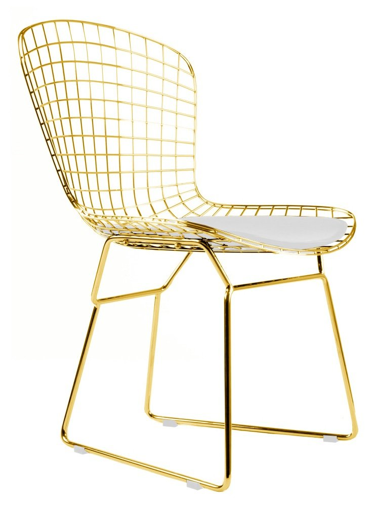 bramwell vintage chair lily product gold armchair