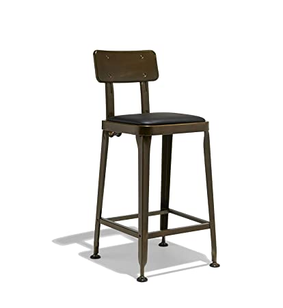 Magnificent Amazon Com Industry West Octane Counter Stool Kitchen Dining Customarchery Wood Chair Design Ideas Customarcherynet