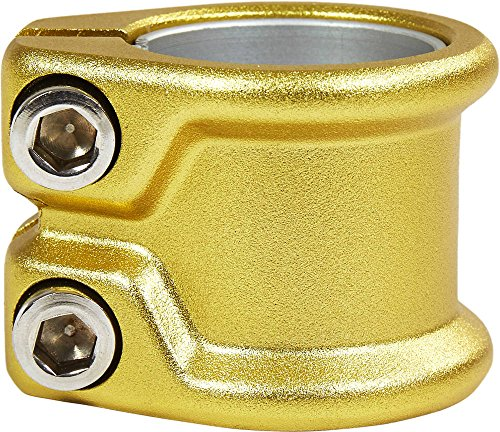 Double Line Laser - District HT-Series Double Pro Scooter Clamp (Gold)