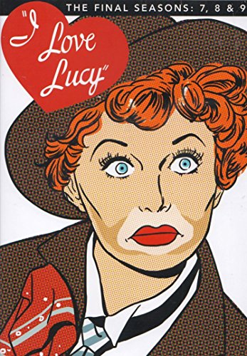 DVD : I Love Lucy: Final 7th and 8th and 9th Seasons (Boxed Set, Full Frame, Repackaged, 4 Disc)