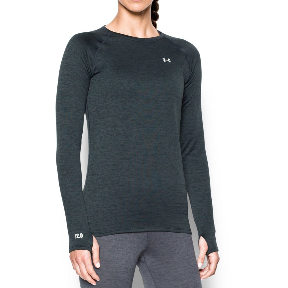 Under Armour Outerwear Women's Base 2.0 Crew Hoodie, Large, Lead