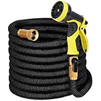 LAYDRAN Expandable Garden Hose with Hanger - 50ft...