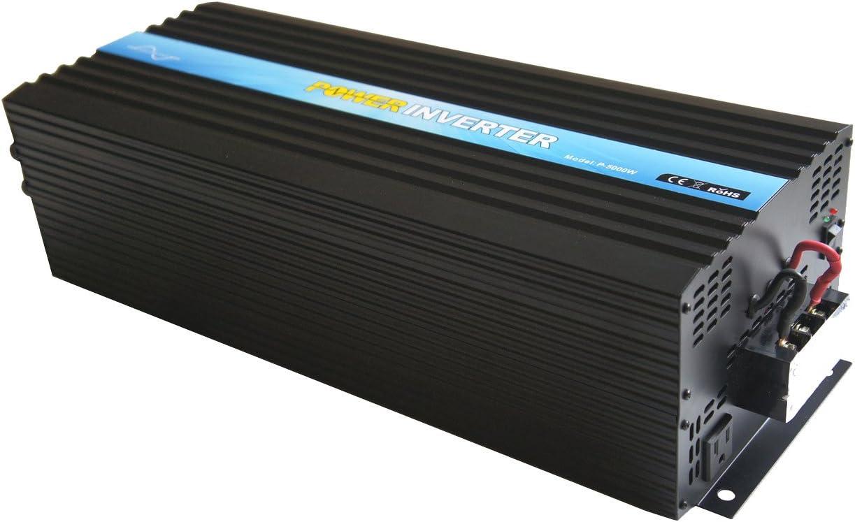 NIMTEK NM5000 Pure Sine Wave Off-grid Inverter, Solar Inverter 5000 Watt 24 Volt DC To 110 Volt AC