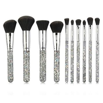 Makeup Brush 10Pcs Makeup Brushes Cosmetics Tools Face Eyeshadow Eyelash Lip Applicators, Stylish, Can