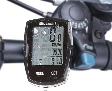 Función Multi Blusmart LCD ordenador velocímetro inalámbrico de ...
