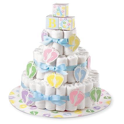 Amazon Com Simplicity Wilton 1004 3140 Diaper Cake Kit Home Kitchen