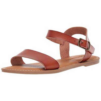 Amazon Essentials Women's Two Strap Buckle Sandal: Clothing