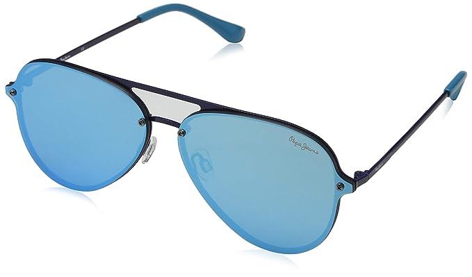 Pepe Jeans Milo Gafas de sol, Azul (Blue/Green), 65.0 Unisex ...