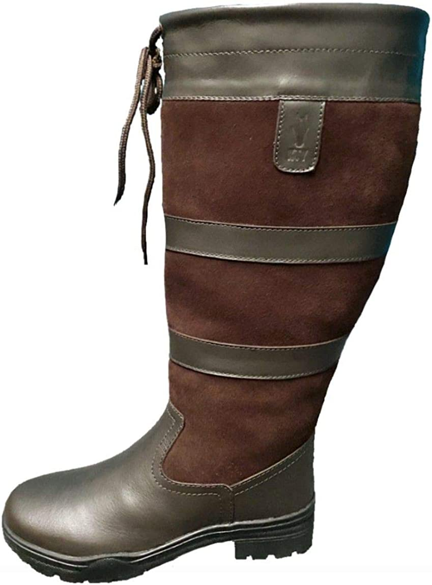 KTY X-Wide Calf Long Leather Country