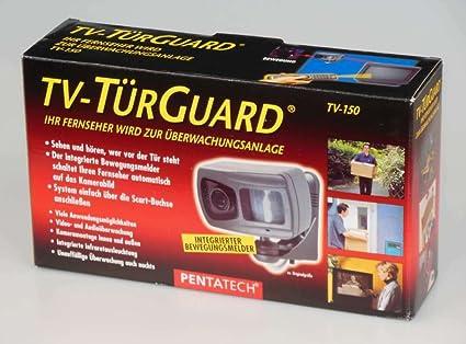 Pentatech - Sistema de vigilancia (sensor de movimiento integrado, con conexión a su TV