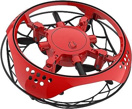 Opinión sobre ZC Dawn Mini Quad Drone Inducción Levitación OVNI, RC Quadcopter Drone Mano Controlada del Vuelo del Helicóptero LED De Inducción Vuelo De Los Aviones RC Toys