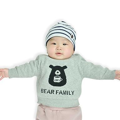 Iceybaby Familia Traje Trajes de algodón para bebés Trajes ...