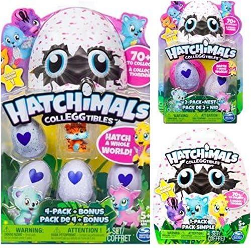 Lote De 4 Hatchimals Season 4 CollEGGtibles 4-Pack Bônus hatchimals Lote De 4