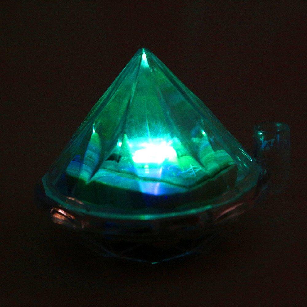TKOOFN 4er-Set 4er-Set 4er-Set solar LED Diamond de Jardín Luz solar lámpara de jardín iluminación lámpara LED solar césped lámpara al aire libre lámpara de LED de la luz - sistema de ahorro de energía multic 320e25