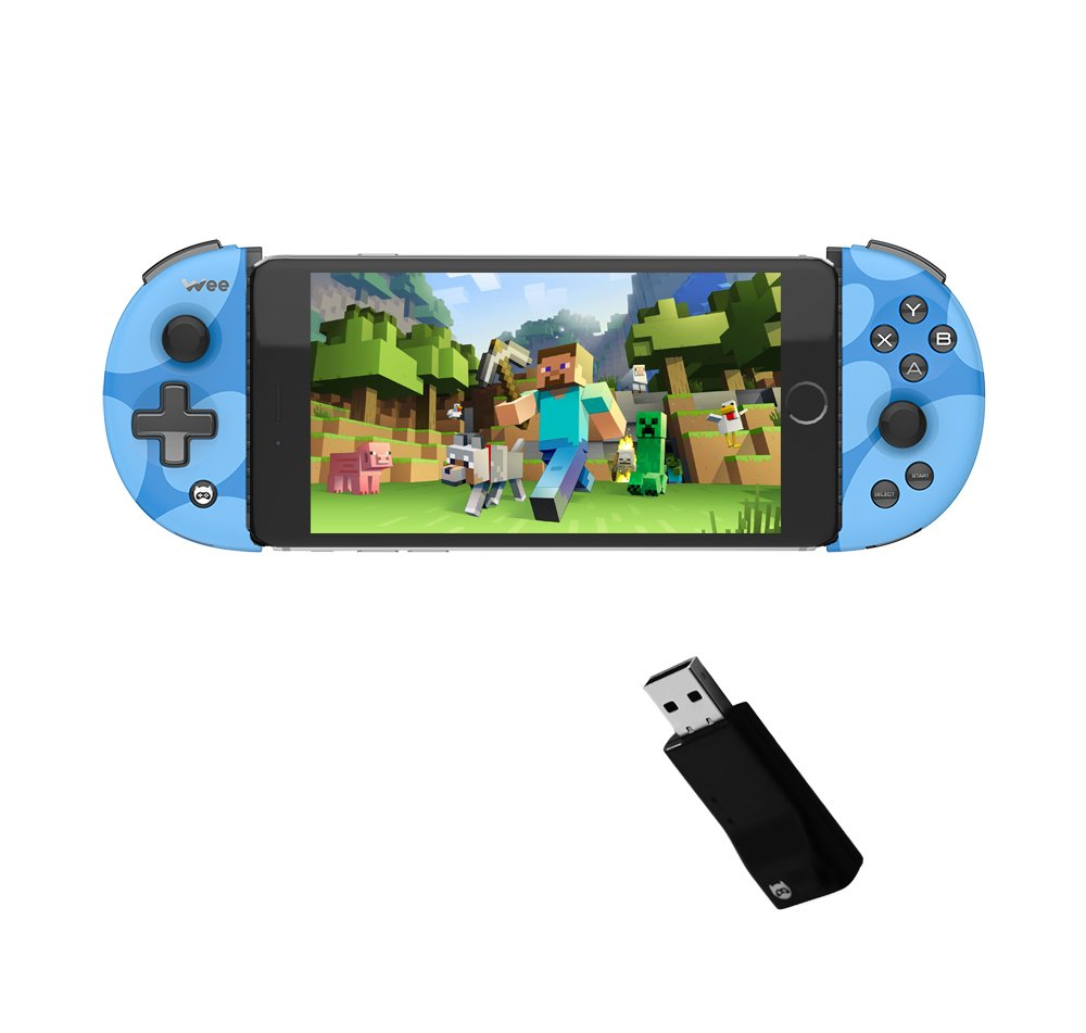 Bounabay Wireless Telescopic Bluetooth Controller Gamepad for Android, Black B06XKSNCTM