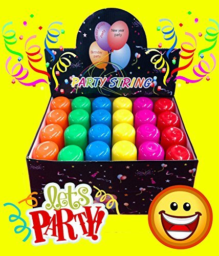 48 Pack Wholesale Lot: Silly Party Crazy String Streamer Spray Cans Wholesale Lot High Quality ()