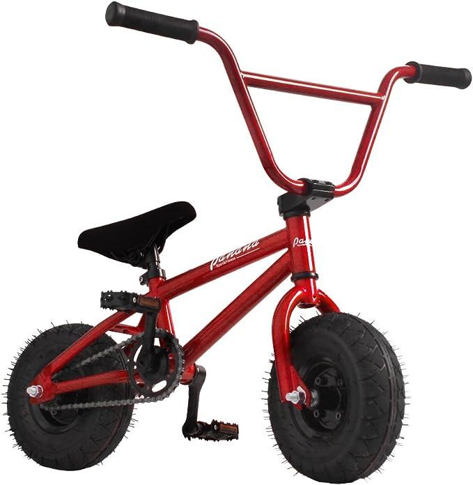 ANAELLE Pandamoto Mini bicicleta BMX Freestyle con 3 piezas ...