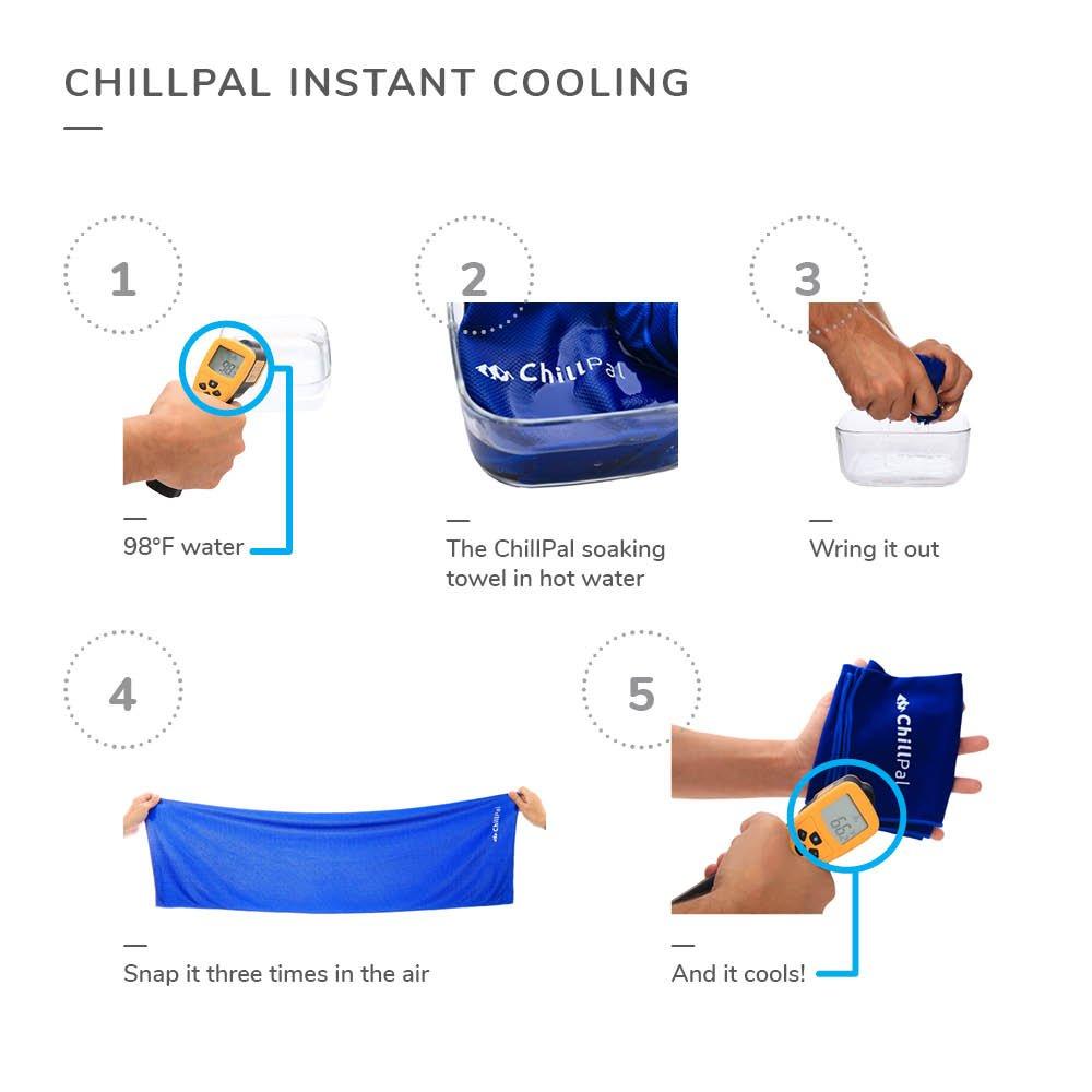 Chill PAL en microfibre Serviette de refroidissement