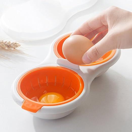 Luckstar escalfador de huevos para microondas, color doble ...
