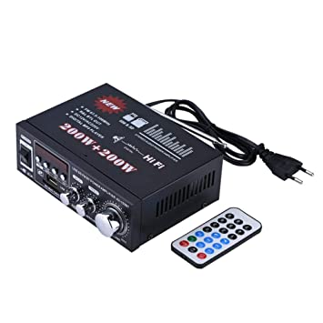 VBESTLIFE Amplificador HiFi Amplificador de Potencia de Alta Fidelidad Puede Conducir MP3, MP4, CD, Radio, DVD,etc.: Amazon.es: Electrónica