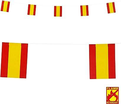 WIDMANN Guirnalda Bandera España 6 m: Amazon.es: Juguetes y ...