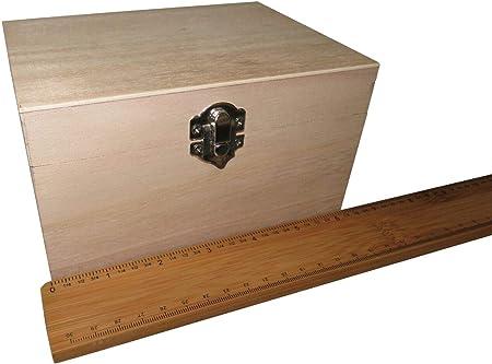 FILORO - Cajas de madera para decorar recuerdos de Deco, tamaño ...