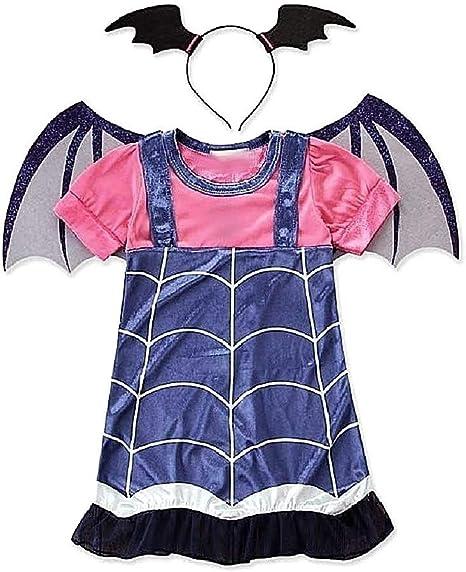 Disfraz de vampirina para niña carnaval vampira diadema alas ...