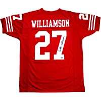 $89 » Carlton Williamson Signed Autographed San Francisco 49ers Custom Jersey TRISTAR COA