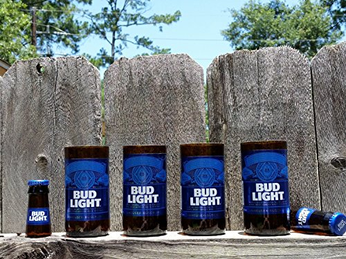 set-of-4-upcycled-bud-light-glasses-and-2-shot-glasses