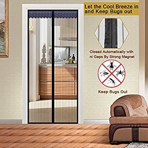 Magnetic Screen Door   Premium Quality Magnetic Mesh Screen Door Full Frame  Velcro  Durable Summer Style Mesh Prevent Mosquito Kitchen Window Organza  ...