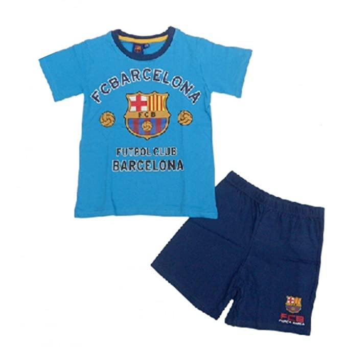 FC Barcelona-Pijama infantil corto 1f012637d84