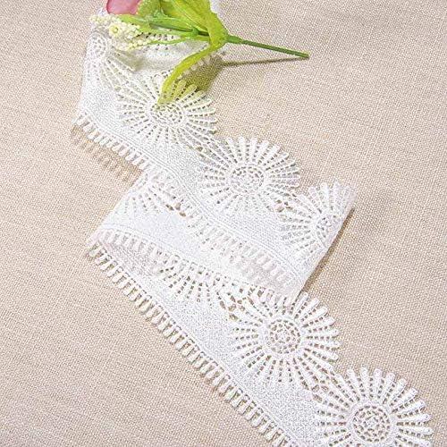 Vestido De Boda Nota Musical Patrón Floral Bordado Vestido Paño Coser Craft
