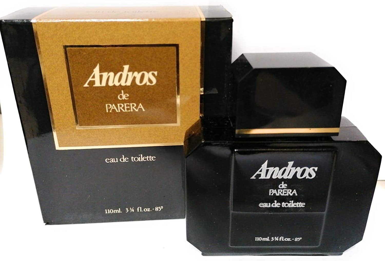 Andros de Parera - Eau de Toilette 110ml Edt Splash VINTAGE