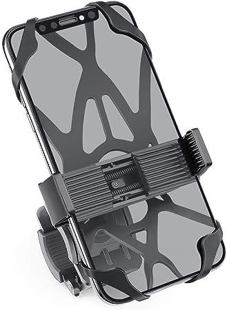 Zeadio Soporte Teléfono Bicicleta y Moto para iPhone 11 Pro XR X ...